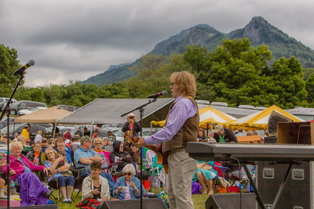 Gospel music festival at Grandfather Mountain