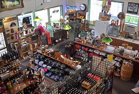 Bayou General Store beer and supplies Banner Elk